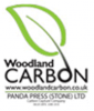 Woodland carbon scheme logo for panda press