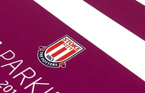 Printed parking tickets for Stoke City football club