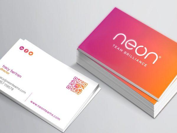 neon-business-card-design