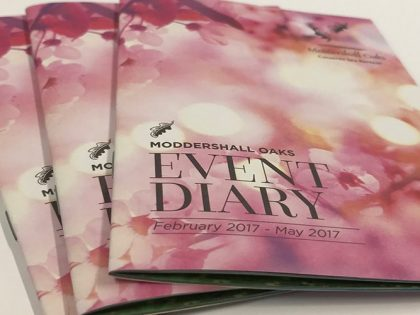 Panda Press helps Moddershall Oaks look forward to spring