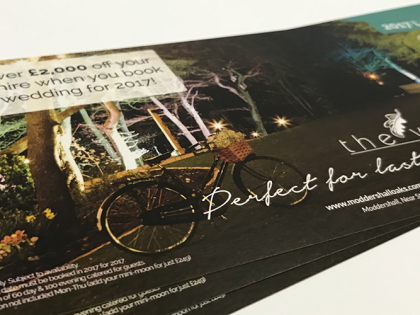 Order printed flyers online with Panda Press