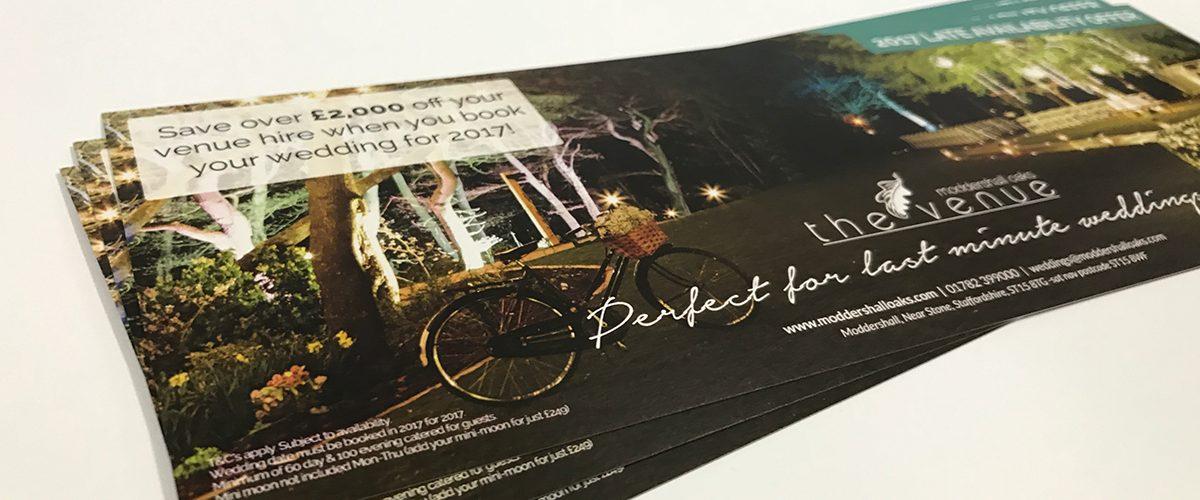 Printed DL flyers