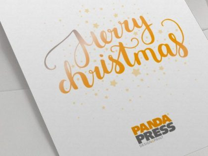 Time to order your corporate Christmas cards online?