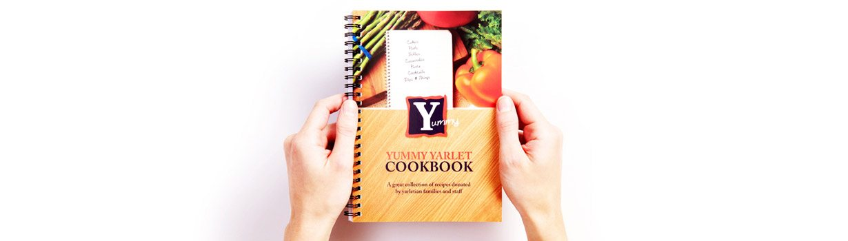 Bespoke printed cookbook