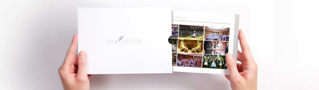 Luxury printed spa brochure