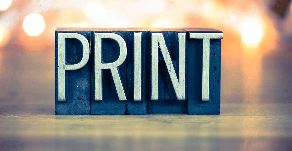Use print in your marketing