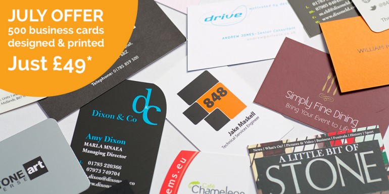 Printed business cards offer panda press stone ltd colourmoves