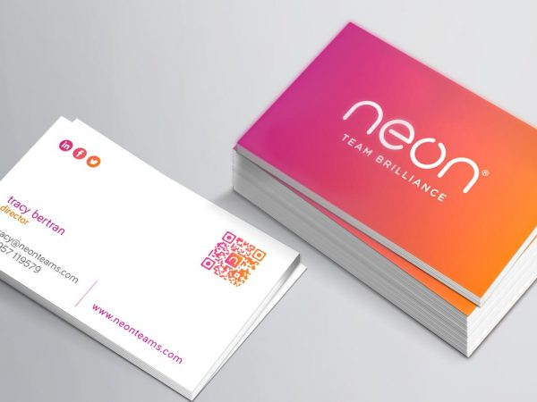 neon-business-card-design