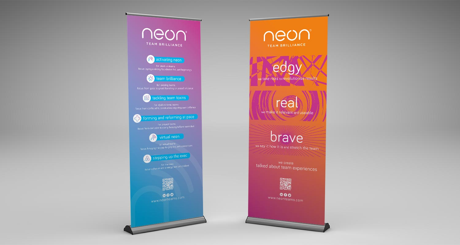 Graphic Design Pull Up Banner
