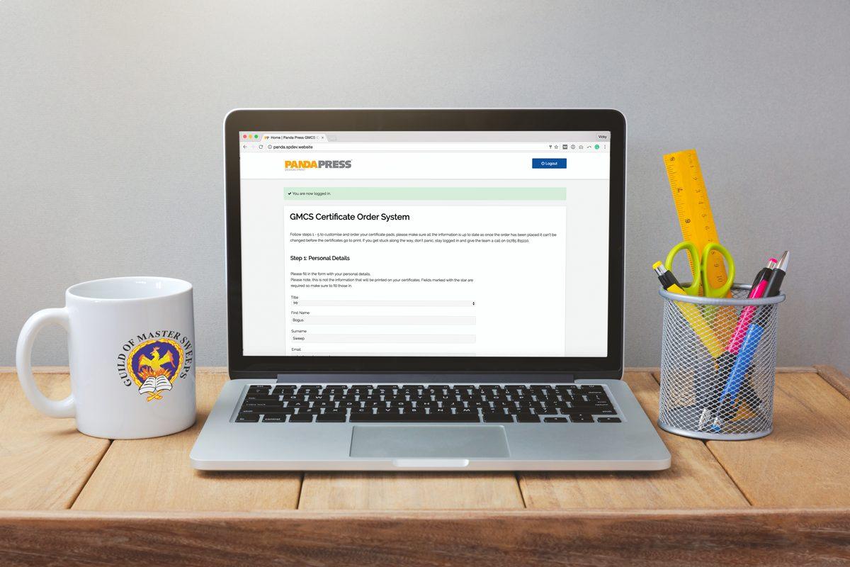 GMCS online ordering portal