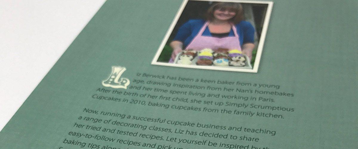 Simply Scrumptious Cupcakes recipe book by Liz Berwick